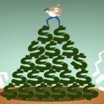 Cuidados com os golpes de pirâmide financeira que envolve Bitcoins. Não caia nessa!