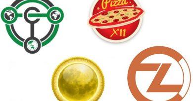 Analisando as moedas MoonCoin , ZClassic, PizzaCoin e a Terracoin