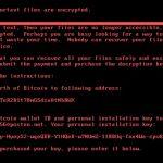 Novo ataque Ransomware pede resgate em Bitcoins!