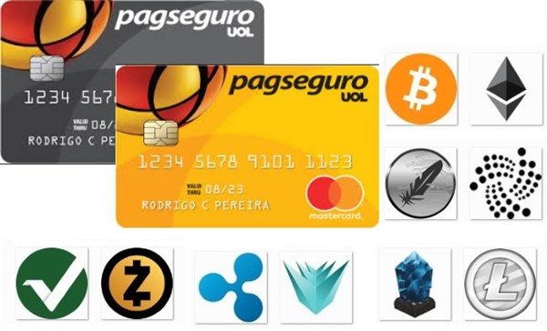 Como gastar suas criptomoedas usando o seu cartão de crédito pré-pago da Pagseguro?