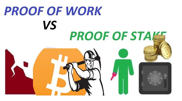 Qual a diferença entre proof of work vs proof of stake