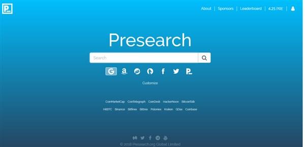 Presearch (PRE) - Ganhe criptomoedas enquanto você pesquisa na internet!