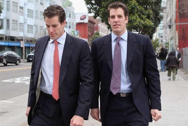 Eles acreditaram no potencial do bitcoin e hoje, os gêmeos Cameron e Tyler Winklevoss são os mais novos bilionários dos EUA