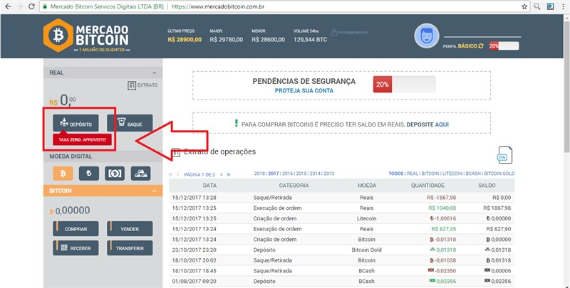 c547f4ce1d Como comprar bitcoins  Passo a passo! – Batistacoin.net