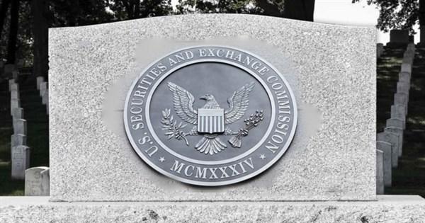 Adeus SEC, descanse em paz???