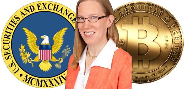 Sra. Peirce, uma das funcionárias da SEC revelou que não há rasão para o ETF não ser aprovado!
