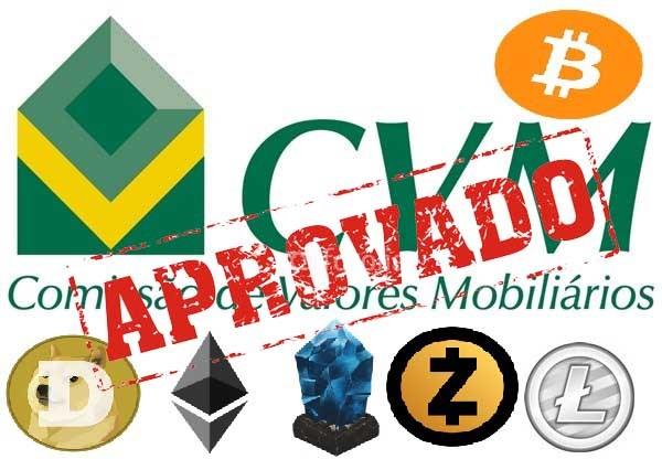 """Aprovado: CVM """"autoriza"""" investimentos em criptomoedas no Brasil!"""