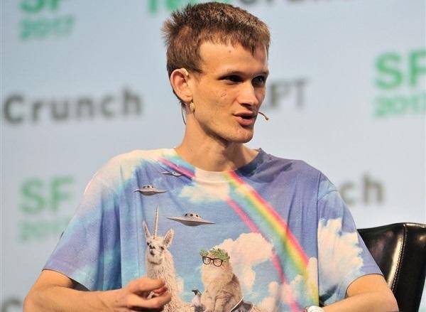Vitalik Buterin, criador da plataforma Ethereum e respectivamente, seu token, Éther (ETH)