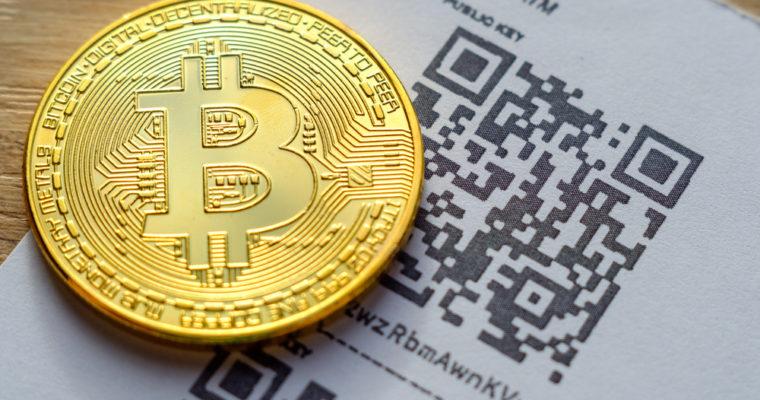 Bitcoin e o QR-CODE que nada mais é que uma cateira de papel