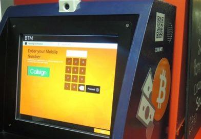 Caixas eletrônicos de bitcoins nos EUA