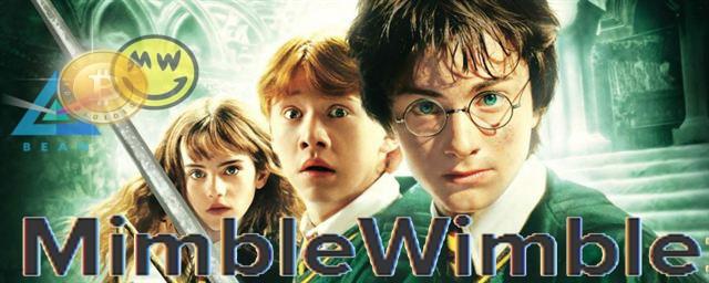"""Curiosidade: o nome """"MimbleWimble"""" foi retirados de uma magia da franquia do filme: Harry Potter"""