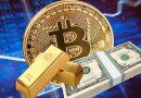 Bitcoin versus Ouro versus dinheiro: O embate final!