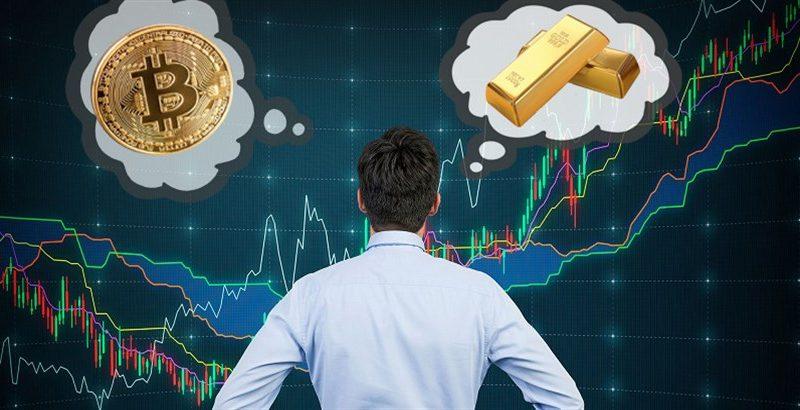 Investidores estão tirando dinheiro de Bitcoin para comprar ouro, aponta análise