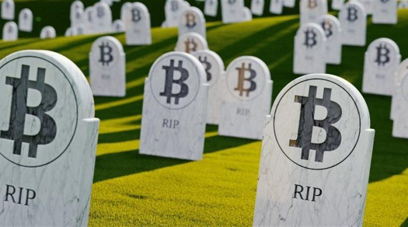 O bitcoin morreu de novo, mas, passa bem