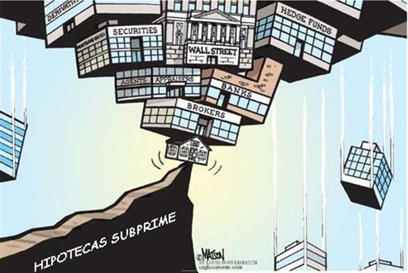 A crise do Subprime: A éoca perfeita para os governos deixarem a bolha estourar e a mesma foi apenas murchada