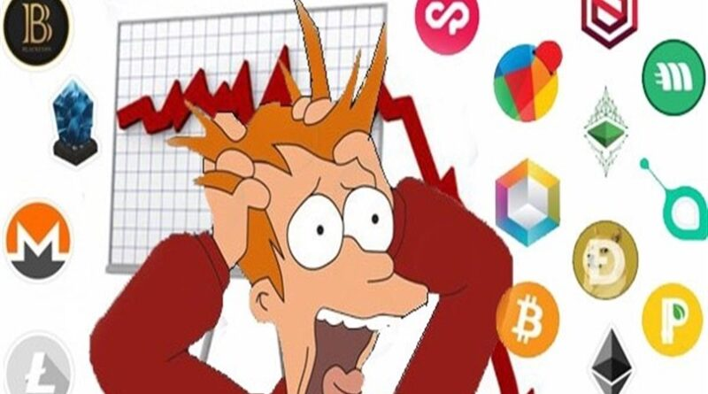 Bitcoin cai mais de 50%! Enquanto muitos vê queda nós vemos oportunidade!