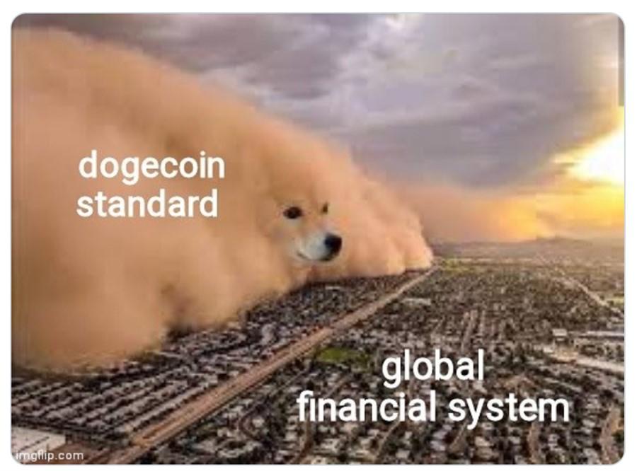 Dogecoin engolindo o mercado!