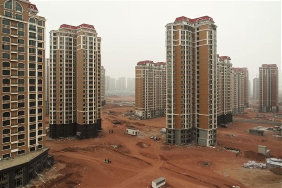 Boom imobiliario na China. Um verdadeiro pastel de vento!