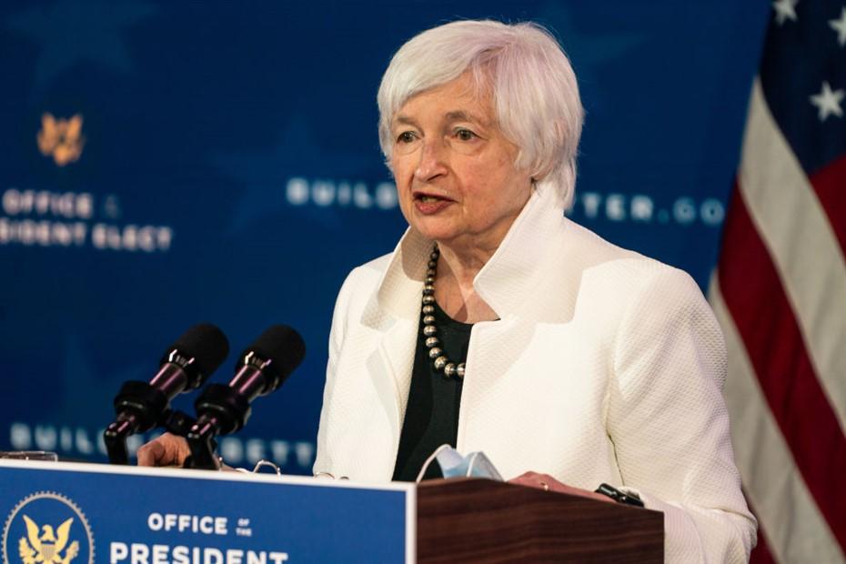 Janet Yellen, a secretária do tesouro dos Estados Unidos. Aquela burrinha que acha que imprimir dinheiro vai resolver os problemas do mundo. Saiba mais!