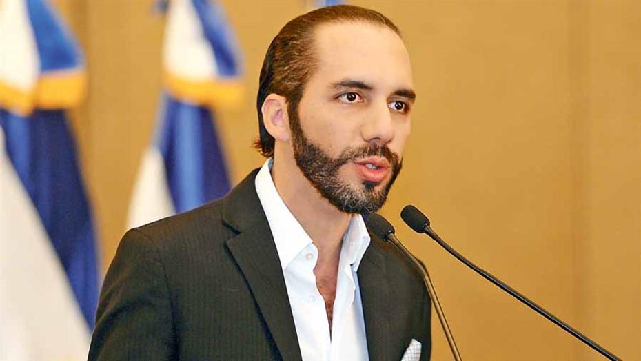 presidente de El Salvador, Nayib Bukele.