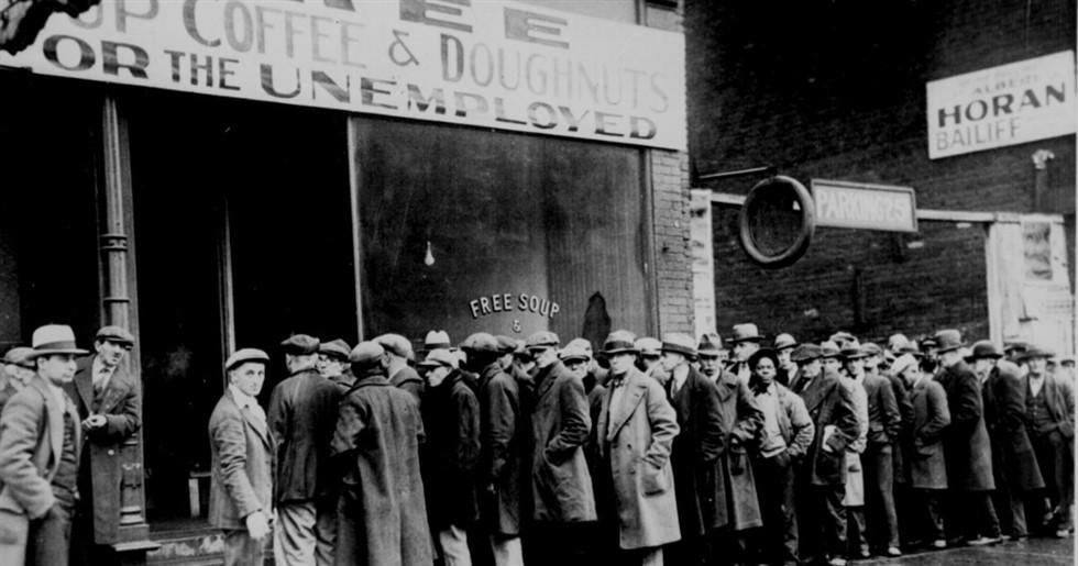A pior crise - conhecida - da humanidade foi a crise de 1.929. No entanto, graças ao viéis inflacionário do FED, a crise que ainda está por vir será muito pior, acredite.