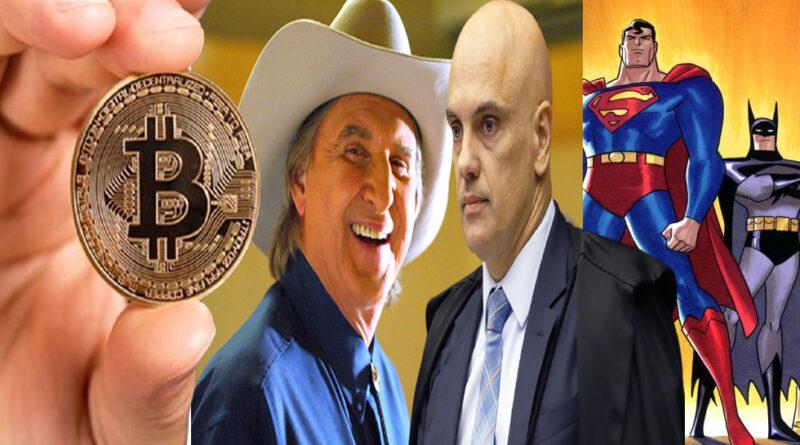 Sérgio Reis, Liga da Justiça, STF e o bitcoin: O que esses fatos têm em comum? A resposta vai te surpreender!!!